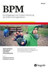 Test komplett bestehend aus: Manual, 10 Kurzfragebogen für Eltern zu Problemen von Kindern und Jugendlichen (BPM-P/6–18), 10 Kurzfragebogen für Lehrer zu Problemen von Kindern und Jugendlichen (BPM-T/6–18), 10 Kurzfragebogen für Jugendliche zu Problemen (BPM-Y/11–18), 10 Auswertungsbogen Kurzfragebogen für Eltern zu Problemen von Kindern und Jugendlichen (BPM-P/6–18), 10 Auswertungsbogen Kurzfragebogen für Lehrer zu Problemen von Kindern und Jugendlichen (BPM-T/6–18), 10 Auswertungsbogen Kurzfragebogen für Jugendliche zu Problemen (BPM-Y/11–18), 10 Verlaufsbogen: Repräsentativ-Normen (BPM-P/6–18, BPM-Y/11–18), 10 Verlaufsbogen: Klinische Normen (BPM-P/6–18, BPM-Y/11–18, BPM-T/6–18) und Mappe