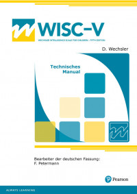 Wechsler Intelligence Scale for Children - Fifth Edition
