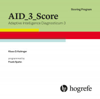 Testauswerteprogramm AID 3 Score, englisch